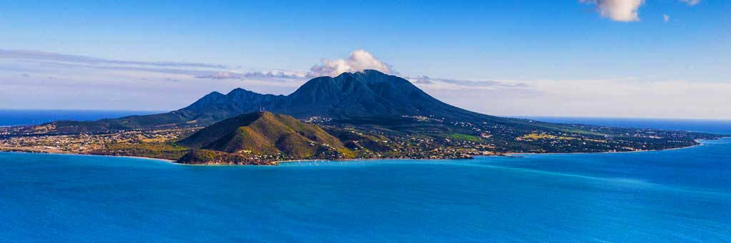 Photo of Nevis Island in St. Kitts Cruise Ship Port