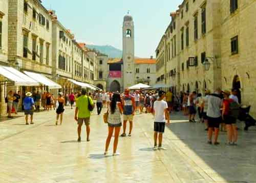 Photo of Placa in Dubrovnik Cruise Port