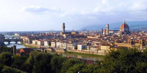 panoramic photo of Florencel in Italy