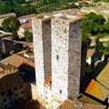 Photo of Salvucci Towers in San Gimignano Destination Livorno Cruise Port
