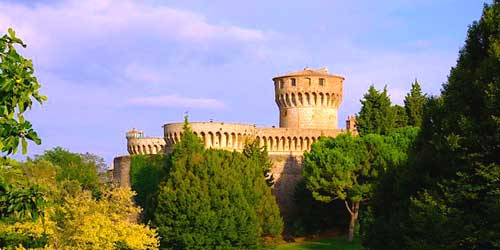 Photo of Fortezza Medicea in Volterra, Livorno Cruise Port Destination