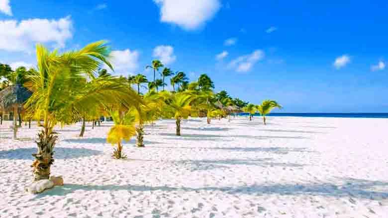 Foto de Eagle Beach em Aruba
