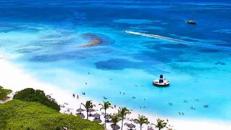Foto de Palm Beach em Aruba