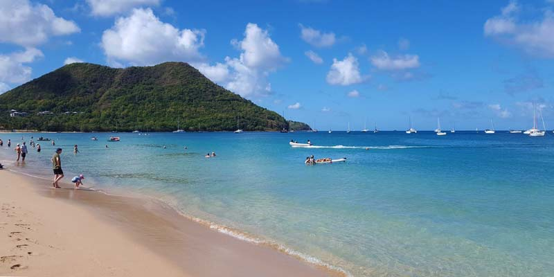 Photo Of Reduit Beach In Saint Lucia