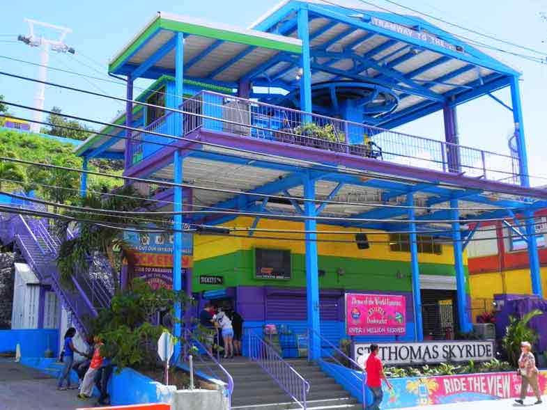 St Thomas (USVI) Charlotte Amalie Cruise Port Guide | IQCruising
