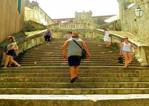 Photo of Baroque Stairs in Dubrovnik Cruise Port