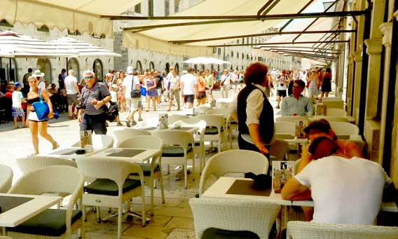 Photo of Cafe in Dubrovnik