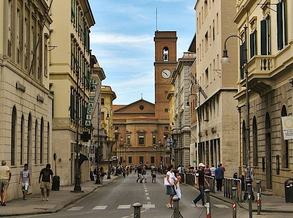 Major Streets | Livorno Cruise Port Guide | IQCruising