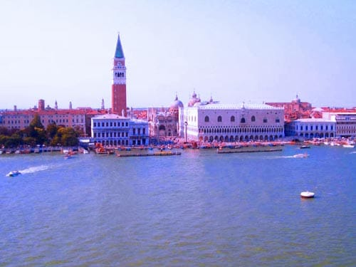 Panoramic Photo of Venice Cruise Port