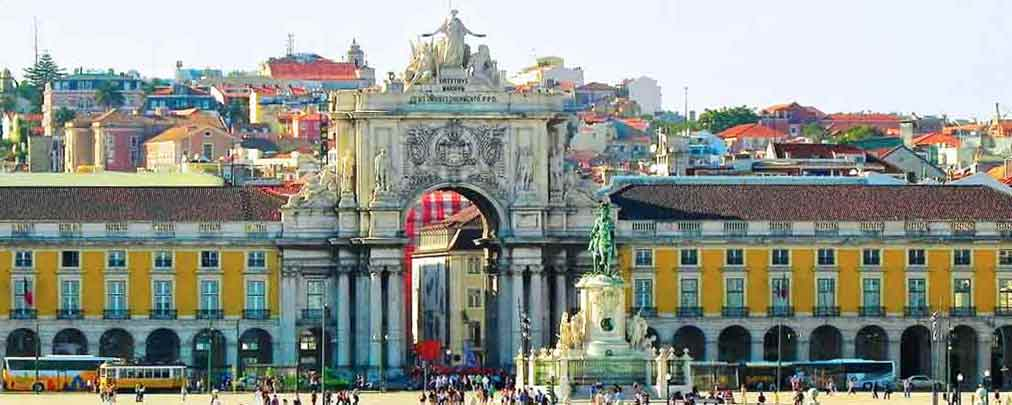 Photo of Terreiro do Paço Square in Lisbon Cruise Ship Port